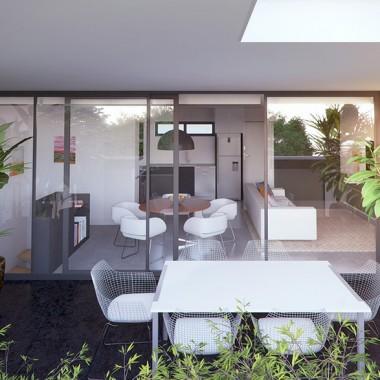 Lindsay Street Apartment 3D Exterior Rendering #1   Virtual Tour