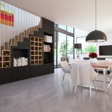 Lindsay Street Living Room 3D Interior Rendering   Virtual Tour