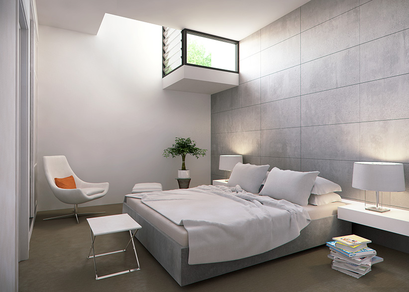 Renders 3d For Master Bedroom Project: BEVIN Creative Lindsay Street Apartments