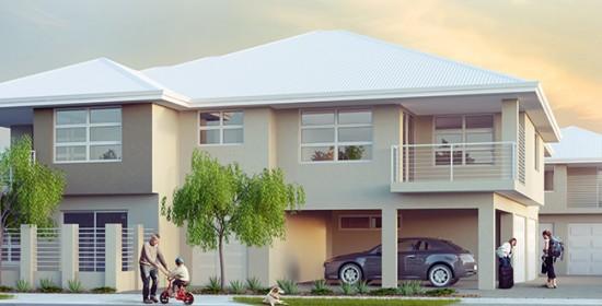 Spencer Road Apartment #1 3D Exterior Rendering #1 | Virtual Tour
