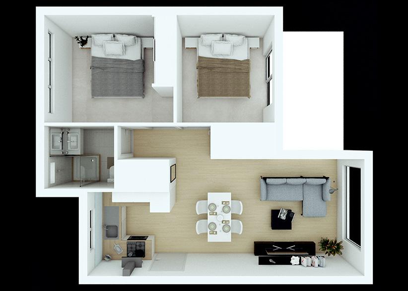 Bevin Creative 3d Floor Plan Rendering Services Australia