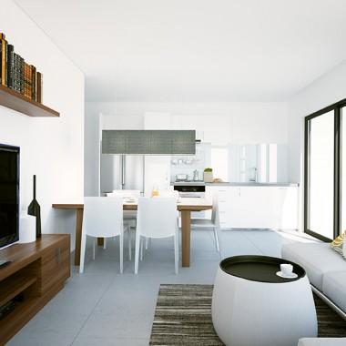 Spencer Road Apartment #1 3D Interior Rendering | Virtual Tour