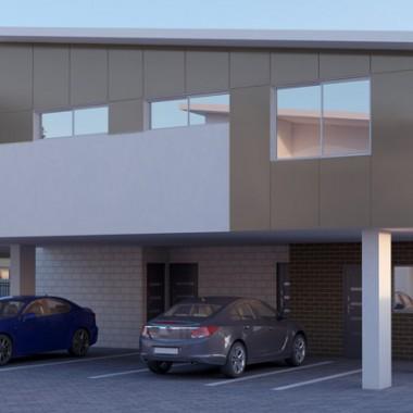 Gild Street 3D Exterior Rendering | Garage View | 3D Virtual Tour Photography