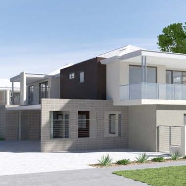 Fitzroy Street 3D Exterior Rendering | Front View | 3D Virtual Tour Photography